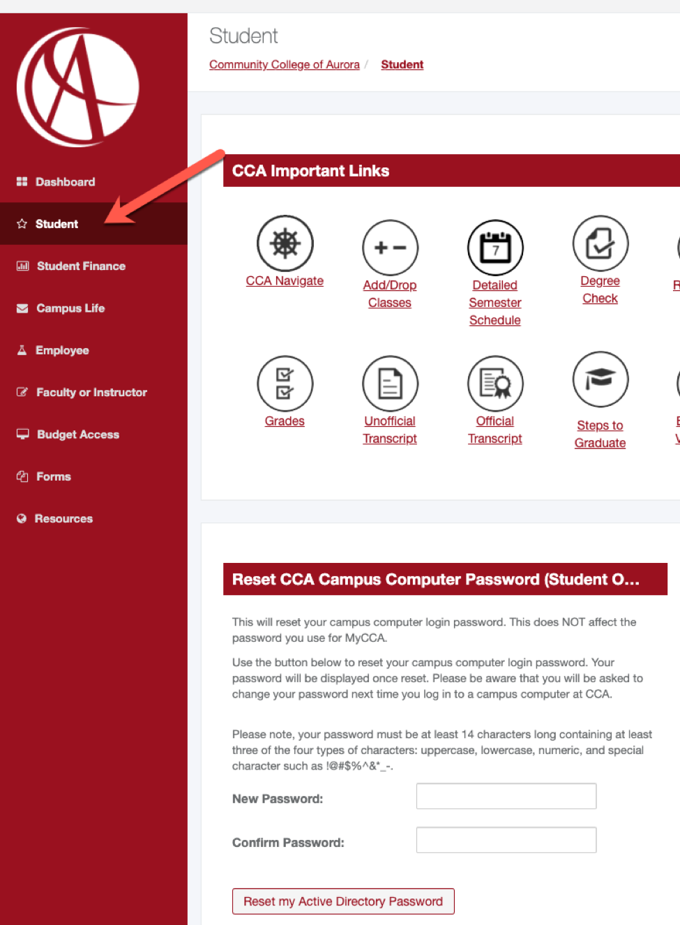 CCA active directory