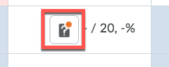 D2L Quiz Gradebook Icon
