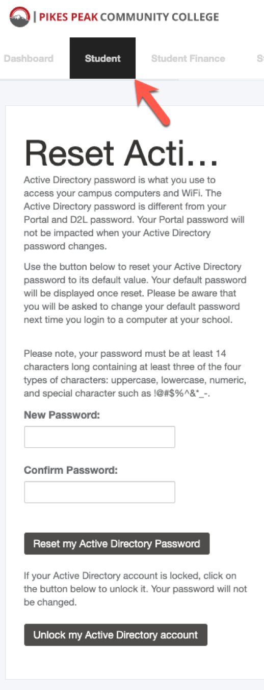 PCC active directory