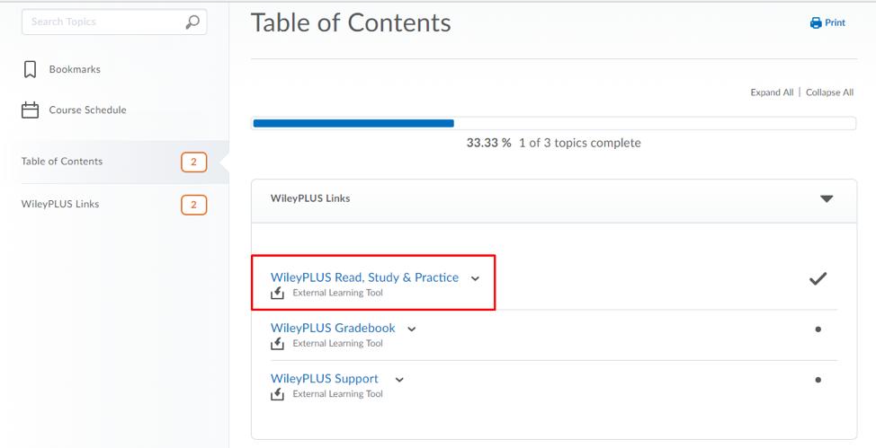 WileyPLUS ORION Read Study Practice