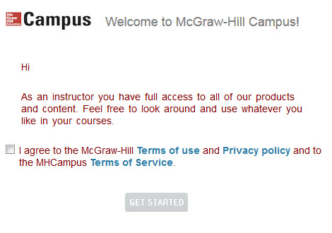 McGraw Hill Connect Instructor Pairing Instructions