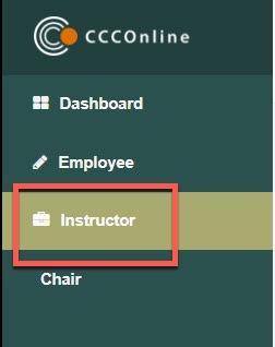 Portal Instructor Tab