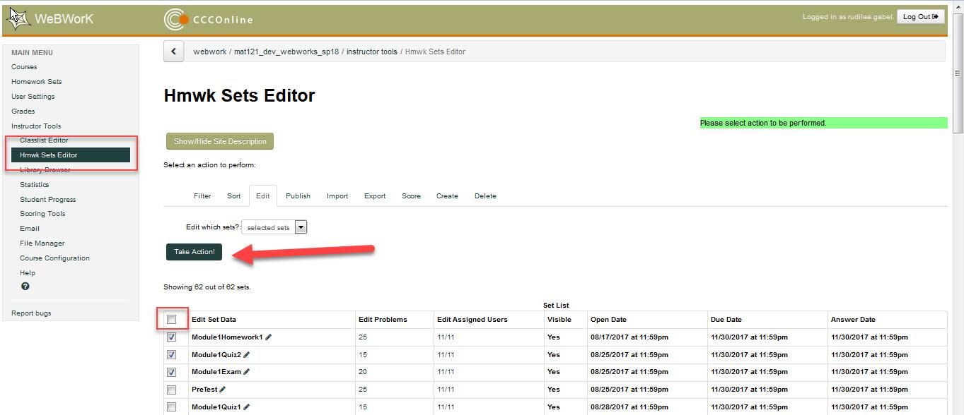 Hmwk Sets Editor Example